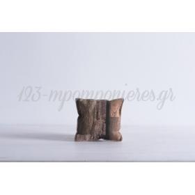 Μαξιλαρακι Με Τυπωμα Ξυλο -10X10- ΚΩΔ:371695-Nt