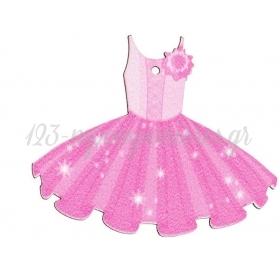 Ξυλινο Φορεμα Μπαλαρινας 5.5X7Cm - ΚΩΔ:M3551-Ad