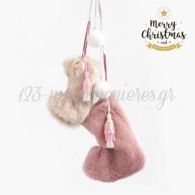 Κρεμαστή Σύνθεση Με Χριστουγεννιάτικες Κάλτσες - ΚΩΔ:19253-PR