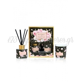 Σετ Δωρου Κερι Και Αρωματικο Χωρου Bouquet Μεσα Σε Κουτι - ΚΩΔ:St00618-Sop