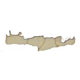 ΞΥΛΙΝΟ ΛΕΥΚΟ ΚΡΗΤΗ 8X1.8CM - ΚΩΔ:M1414-AD
