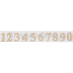 ΞΥΛΙΝΟΙ ΑΡΙΘΜΟΙ 7CM - ΚΩΔ:M9747-AD