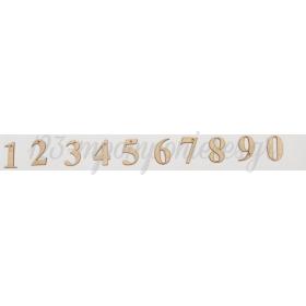 ΞΥΛΙΝΟΙ ΑΡΙΘΜΟΙ 5CM - ΚΩΔ:M9748-AD