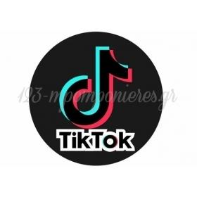 ΑΥΤΟΚΟΛΛΗΤΑ PARTY TIK TOK 7cm - ΚΩΔ:207130-2-7-BB