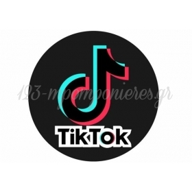 ΑΥΤΟΚΟΛΛΗΤΑ PARTY TIK TOK 10cm - ΚΩΔ:207130-2-10-BB
