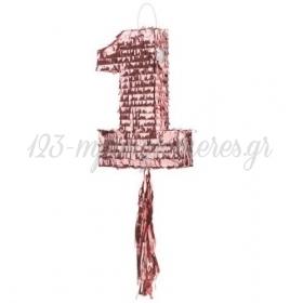 ΠΙΝΙΑΤΑ 1 ΡΟΖ ΧΡΥΣΟ - ΚΩΔ:PIN13-BB