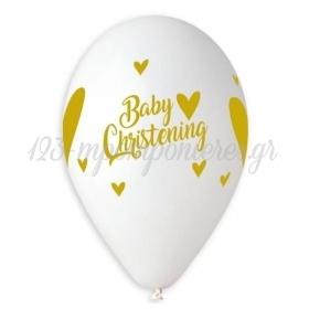 ΜΠΑΛΟΝΙ ΛΑΤΕΞ 13''(35cm) BABY CHRISTENING ΤΥΠΩΜΕΝΟ- ΚΩΔ:13613920-BB