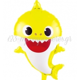 ΜΠΑΛΟΝΙ FOIL 65Χ40cm BABY SHARK - ΚΩΔ:206397-BB