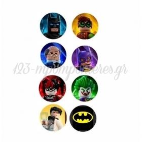 ΣΕΤ ΚΟΝΚΑΡΔΕΣ LEGO BATMAN - ΚΩΔ:P25964-28-BB