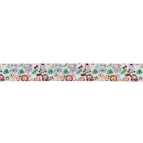 Κορδελα Γκρο Με Τυπωμα Ζωακια 2.5Cmx45.7Μ - ΚΩΔ:M3452-Ad
