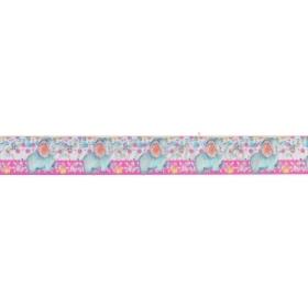 Κορδελα Γκρο Με Τυπωμα Ελεφαντακι 2.5Cmx45.7Μ - ΚΩΔ:M3453-Ad