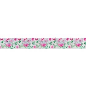 Κορδελα Γκρο Με Τυπωμα Ελεφαντακι 2.5Cmx45.7Μ - ΚΩΔ:M3454-Ad