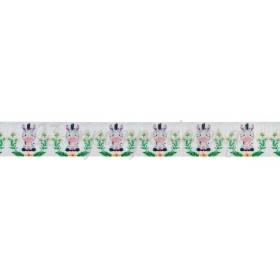 Κορδελα Γκρο Με Τυπωμα Ζεβρα 2.5Cmx45.7Μ - ΚΩΔ:M3457-Ad