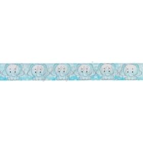 Κορδελα Γκρο Με Τυπωμα Ελεφαντακι 2.5Cmx45.7Μ - ΚΩΔ:M3458-Ad