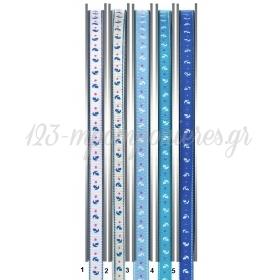 Κορδελα Γκρο Με Σχεδια Ναυτικα 91.4Μ - ΚΩΔ:M9122-Ad