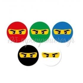 ΣΕΤ ΚΟΝΚΑΡΔΕΣ LEGO NINJAGO - ΚΩΔ:P25964-32-BB