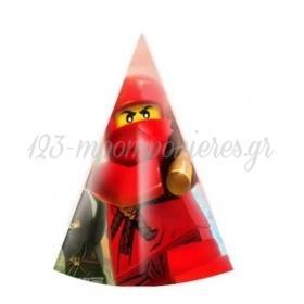ΚΑΠΕΛΑΚΙ ΠΑΡΤΥ LEGO NINJAGO - ΚΩΔ:P259111-40-BB