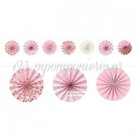 Γιρλαντα Βενταλιες Rosegold 365Cm - ΚΩΔ:220379-Bb