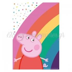 Σακουλιτσες Παρτυ Peppa Pig - ΚΩΔ:9906335-Bb