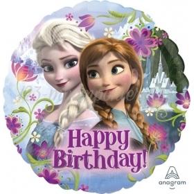 Μπαλονι Foil 17''(43Cm) Frozen Happy Birthday - ΚΩΔ:529009-Bb