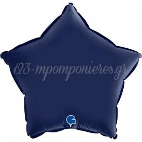 ΜΠΑΛΟΝΙ FOIL 18''(45cm) ΑΣΤΕΡΙ SATIN BLUE NAVY - ΚΩΔ:192S02BN-BB