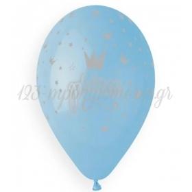 """Μπαλονι Λατεξ 13""""(33Cm) Τυπωμενο Prince Γαλαζιο - ΚΩΔ:136131031-Bb"""