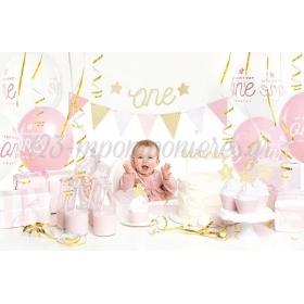 Party Kit Πρωτα Γενεθλια Κοριτσακι - ΚΩΔ:Set6-019-Bb