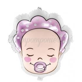 ΜΠΑΛΟΝΙΑ FOIL 18''(45cm) BABY GIRL - ΚΩΔ:FB63-081-BB