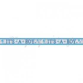 BANNER FOIL IT'S A BOY 7.62m - ΚΩΔ:120188-BB