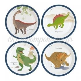 Πιατα Φαγητου Happy Dinosaur - ΚΩΔ:9903969-Bb