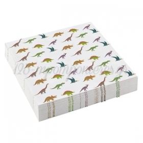 Χαρτοπετσετες Μικρες Happy Dinosaur - ΚΩΔ:9903974-Bb