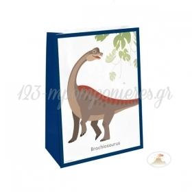 Σακουλιτσες Παρτυ Με Αυτοκολλητο Happy Dinosaur - ΚΩΔ:9903978-Bb