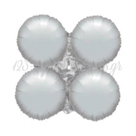 Μπαλονι Foil 16''(40Cm) Για Γιρλαντα Ασημι - ΚΩΔ:206107Π-Bb