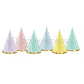 Καπελακια Παρτυ Διαφορα Χρωματα Παστελ - ΚΩΔ:Cpp24-Bb