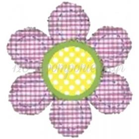Μπαλονι Foil 101Cm Super Shape Λουλουδι Gingham – ΚΩΔ.:85138-Bb