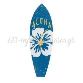 ΒΑΣΗ ΞΥΛΙΝΗ SURFING BOARD ΓΙΑ ΛΑΜΠΑΔΑ 10,5Χ33cm - ΚΩΔ:M3515-AD