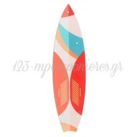 ΒΑΣΗ ΞΥΛΙΝΗ SURFING BOARD ΓΙΑ ΛΑΜΠΑΔΑ 10,5Χ33cm - ΚΩΔ:M3517-AD