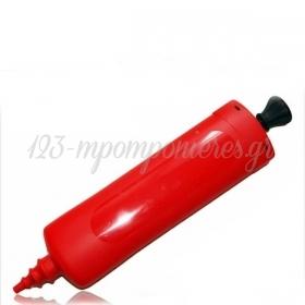 Τρομπα Χειρος Για Latex Μπαλονια 30Cm Σε Διαφορα Χρωματα - ΚΩΔ:136Pompa-Bb