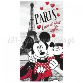 Μεγαλη Αφισα Mickey Και Minnie Στο Παρισι 1.30M - ΚΩΔ:5531127-32-Bb