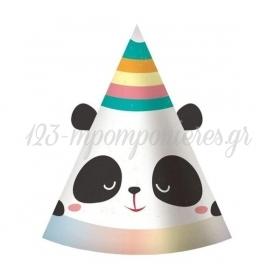 Καπελα Παρτυ Panda Με Αυτακια - ΚΩΔ:Pf-Czrp-Bb