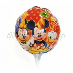 ΜΠΑΛΟΝΙ FOIL 10''(25cm) MINI SHAPE MICKEY AND FRIENDS - ΚΩΔ:206141-BB