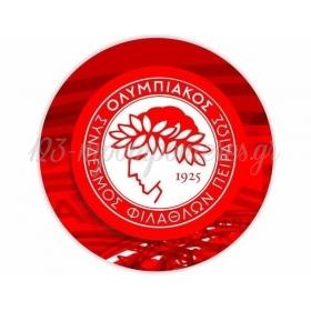 Αυτοκολλητο Party Ομαδες Ολυμπιακος 15Cm - ΚΩΔ:5531121-5-15-Bb