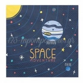 Χαρτοπετσετες Space 33Cm - ΚΩΔ:Sp33-57-Bb