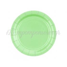 ΧΑΡΤΙΝΑ ΠΙΑΤΑ ΓΛΥΚΟΥ MINT GREEN 18cm - ΚΩΔ:GJ-T7MT-BB