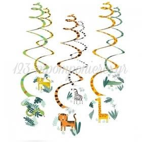 ΔΙΑΚΟΣΜΗΤΙΚΑ ΟΡΟΦΗΣ SWIRLS GET WILD 132cm - ΚΩΔ:9909360-BB