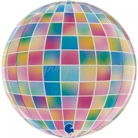 Μπαλονι Foil 15''(38Cm) 4D Πολυχρωμη Disco Μπαλα - ΚΩΔ:G74008-Bb