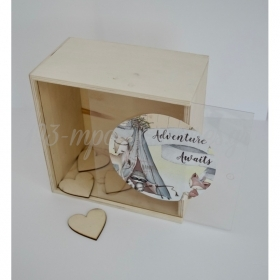 Κουτι Ευχων Ζωακια Του Δασους Ινδιανοι Με Καπακι Plexiglass - ΚΩΔ:H12Ea51-Rn