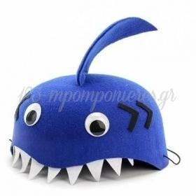 Καπελακι Μπλε Καρχαριακι 19.5X9.5Cm - ΚΩΔ:Ph6-Bb