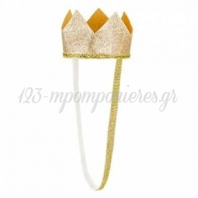 Χρυσο Στεμμα Για Τα Μαλλια 8.5Cm - ΚΩΔ:Std1-019-Bb