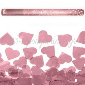 Κανονακι Με Rosegold Καρδιες 60Cm - ΚΩΔ:Tukhr60-019R-Bb